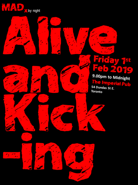 MADx Alive and Kicking Poster